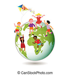 Children Around the World - Children Around the World....