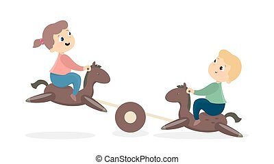 Children at playground.