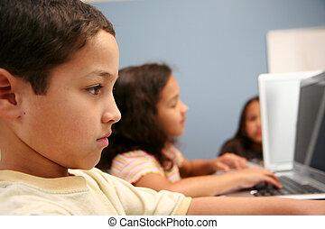 Children At School