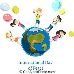 Children Celebrate World Peace Day