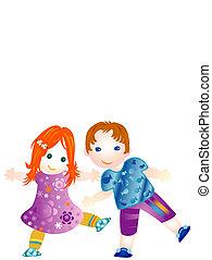 Children  - children having fun