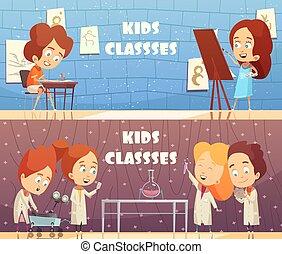 Children Classes Horizontal Banners
