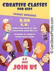 Children Classes Poster