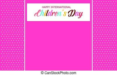 Children day background style art
