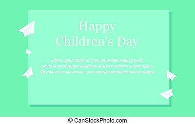 Children day celebration background style