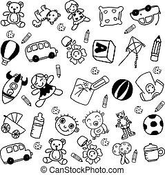 children doodle funny