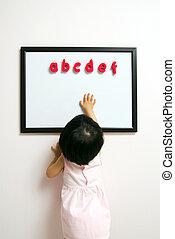 Children education conceptual