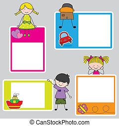 Children frame