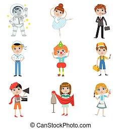 Children Future Profession Collection