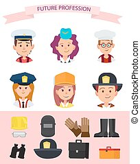 Children in Uniform and Their Future Professions