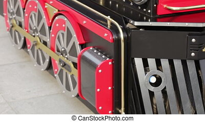 Children locomotive - Movement with children's train...