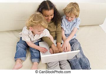 Children On A Computer
