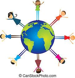 children over world