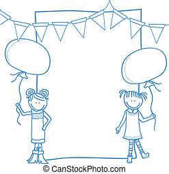 children party banner