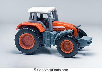 Children plastic toy tractor