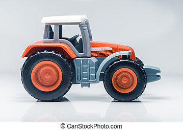 Children plastic toy tractor