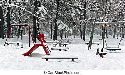 children playground equipment park