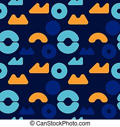 Children playground seamless pattern