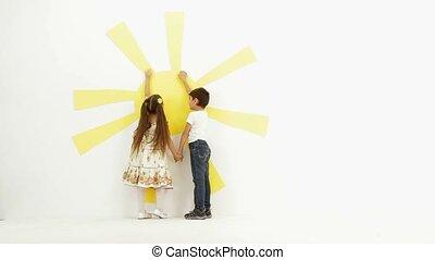 Children Posing