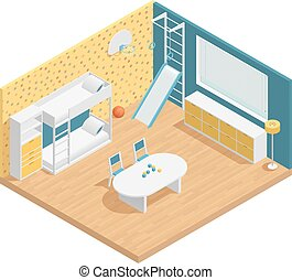 Children Room Composition