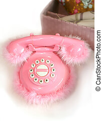 children rosy telephone - toy of children rosy telephone