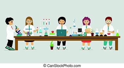 Children scientist