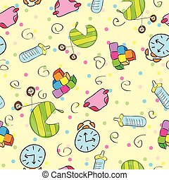 Children stuff pattern