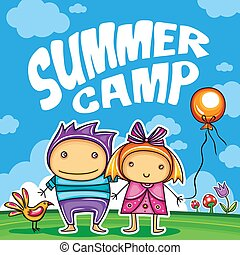 Children Summer camp series