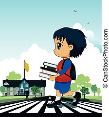 Children to school