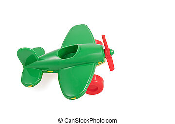 Children toy plastic aircraft