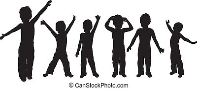Children vector for your design to become the most beautiful
