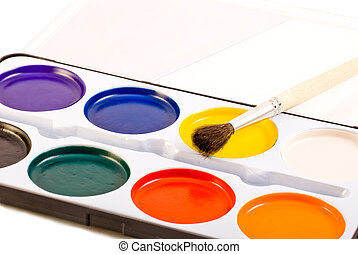water paints set