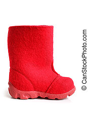 Children winter felt boot