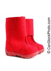 Children winter felt boots
