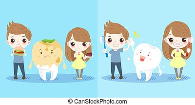 children with tooth health