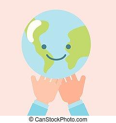 children world hands