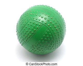 Children's ball on a white background