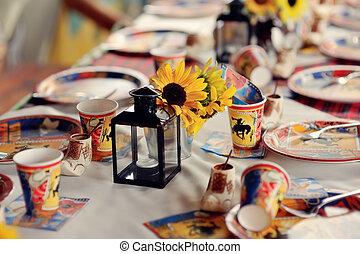 children's banquet