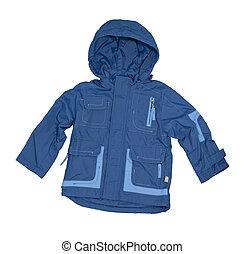 Children's blue jacket.
