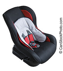 Children's car seat | Isolated