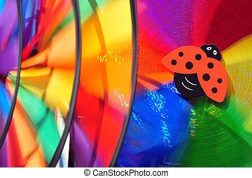 Children's Fun Colorful Background