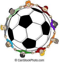 childrens, futball