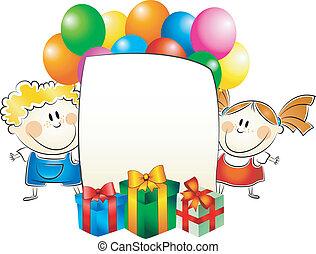 childrens greeting card