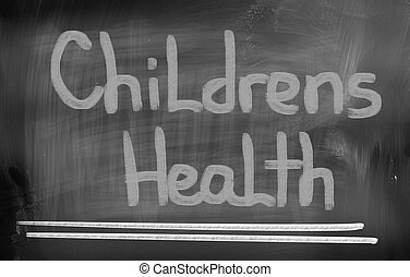 Childrens Health Concept