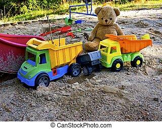 childrens, játszótér