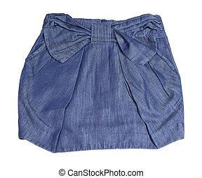 Children's jeans skirt