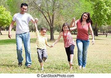 childrens, juego, alegre, humor