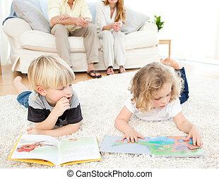 childrens, libros, lectura