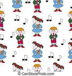 Childrens music theme.