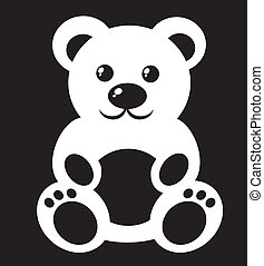 Children's picture - teddy bear